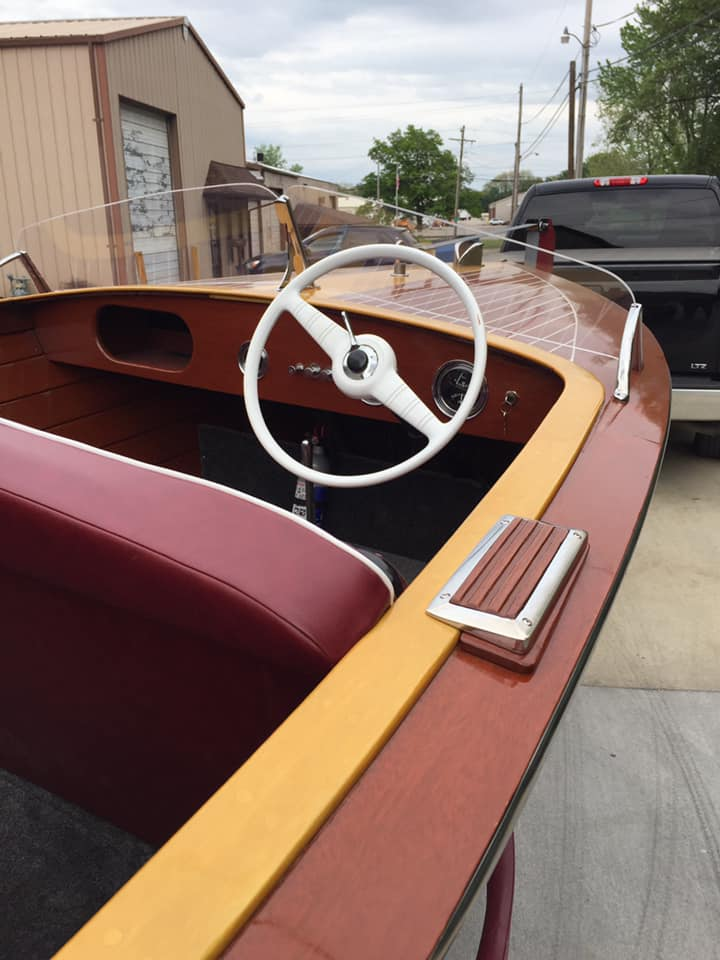 1957 Chris Craft Runabout   all rebuilt and ready to be purchased